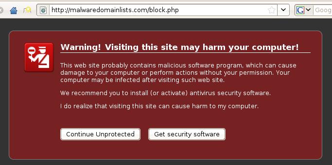 Malware Domain Lists
