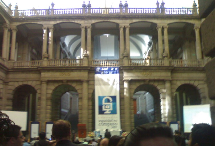 Congreso seguridad en computo 2007 Mexico City