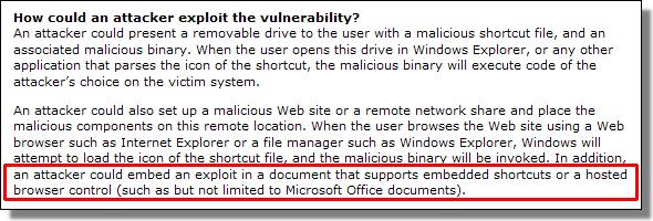 Microsoft Security Advisory 2286198, version 1.2