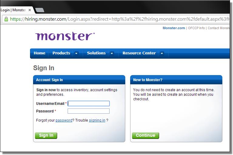 hiring.monster