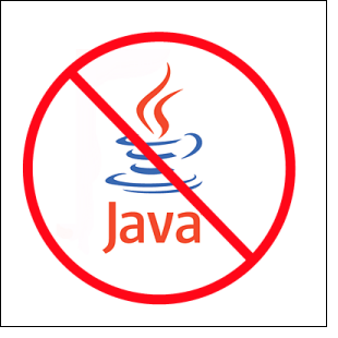 No Java (JRE)