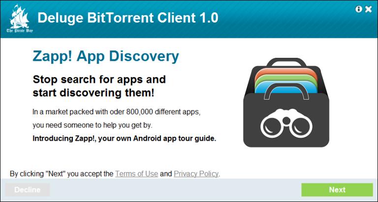 piratebay.com, app discovery