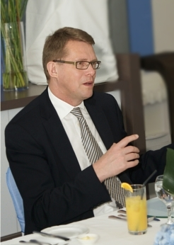 Finnish PM (Lunch at F-Secure Tower)
