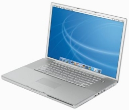 Apple Powerbook G4 17 inch (c) Appel 2004
