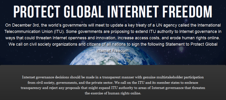 protectinternetfreedom.net, World War 3.0