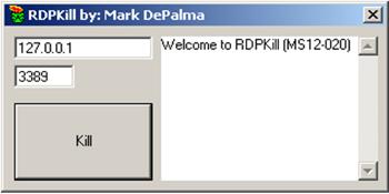 RDPKill