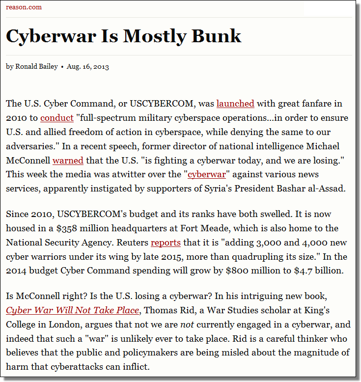 reason.com/archives/2013/08/16/cyberwar-is-mostly-bunk