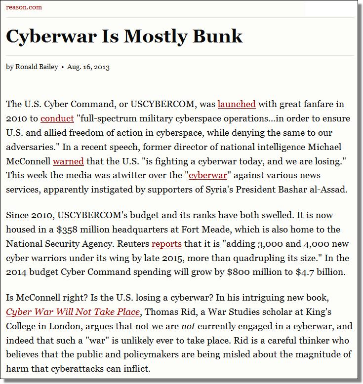 reason.com/archives/2013/08/16/cyberwar-is-mostly-bunk