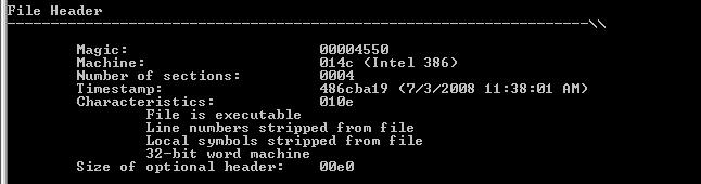 Regin File Header