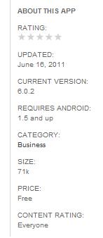 repackaged app details