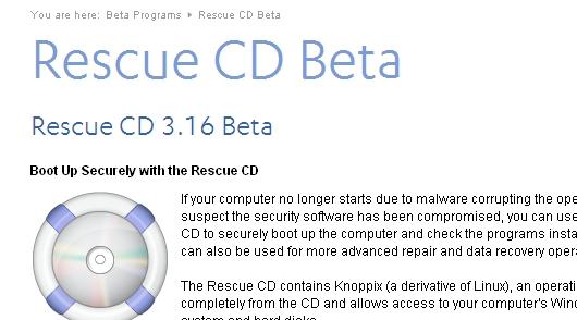 Rescue CD