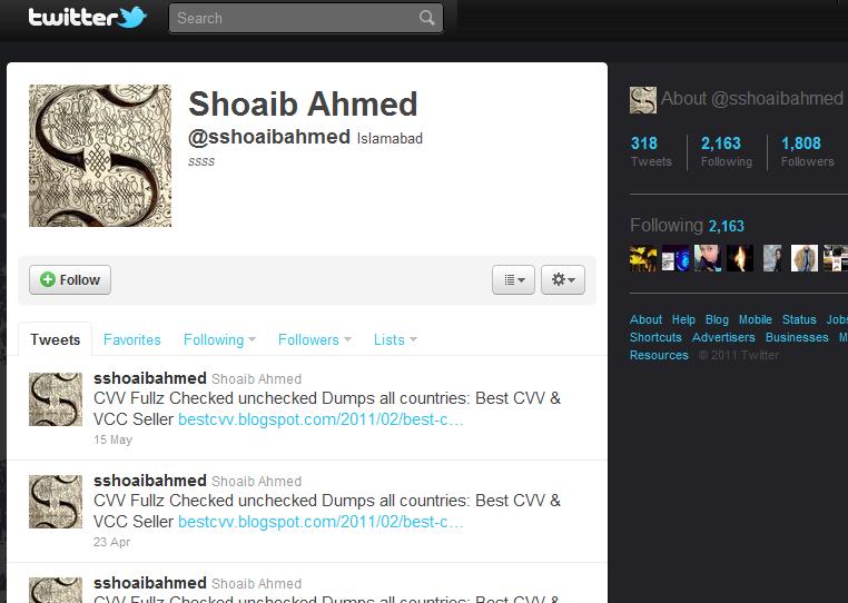 Shoaib Ahmed, sshoaibahmed, sshoaibahmed607