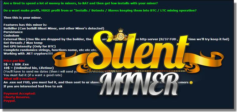 Silent Miner