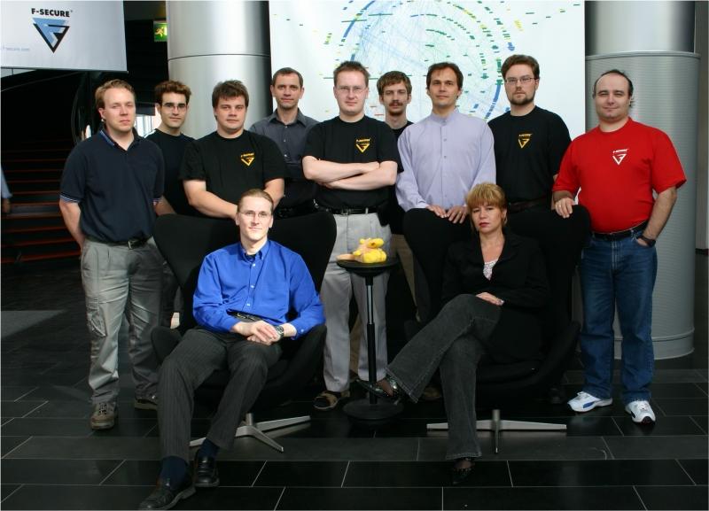 The F-Secure Viruslab team