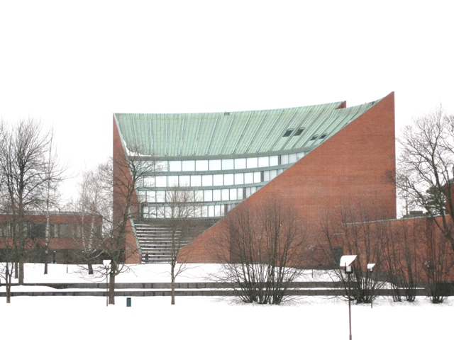 TKK Main Building in Otaniemi