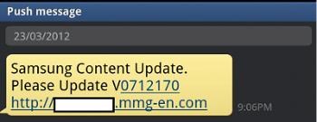 trojan, Samsung update