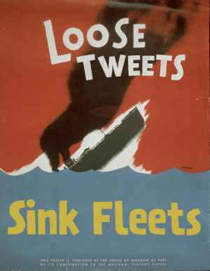 Loose Tweets Sink Fleets (c) Brian Lane Winfield Moore http://www.flickr.com/photos/doctabu/sets/72157620497679512