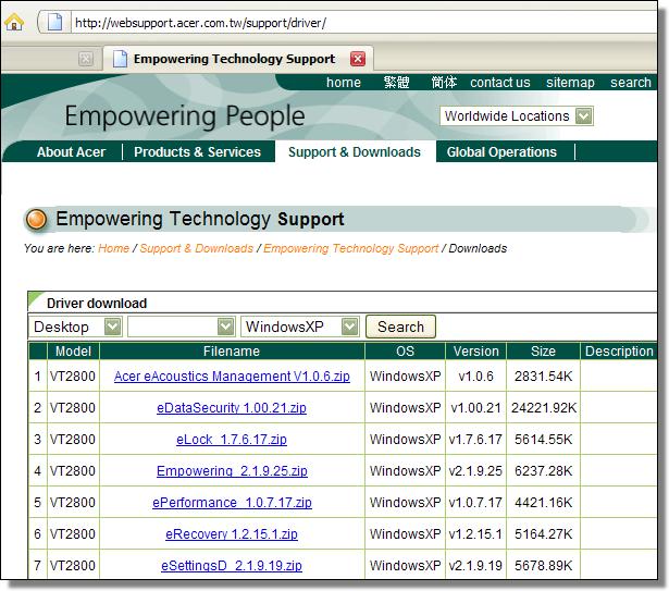 websupport.acer.com.tw