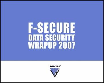 Data Security Wrap-Up 2007