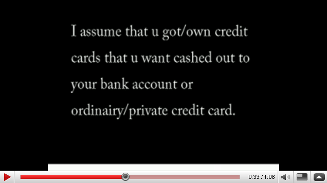 YouTube carding