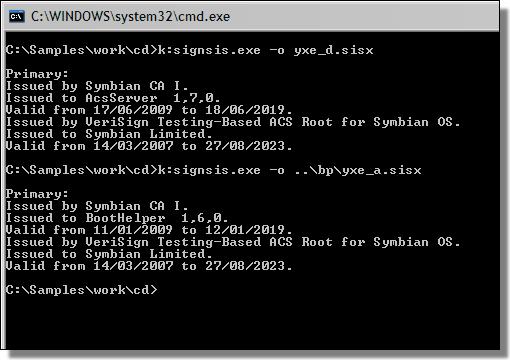 yxe.d certificate info